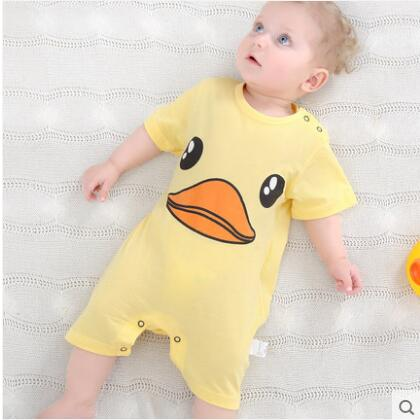 summer 2018 baby bodysuits 0-24M short sleeve body babies newborn baby girl boy clothing cotton infant jumpsuit cartoon costume
