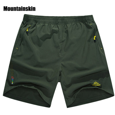 Mountainskin Summer Men's Quick Dry Shorts 8XL 2018 Casual Men Beach Shorts Breathable Trouser Male Shorts Brand Clothing SA198