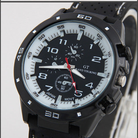 Top Luxury Brand Fashion Military Quartz Watch Men Sports Wrist Watch Wristwatches Clock Hour Male Relogio Masculino 8O75