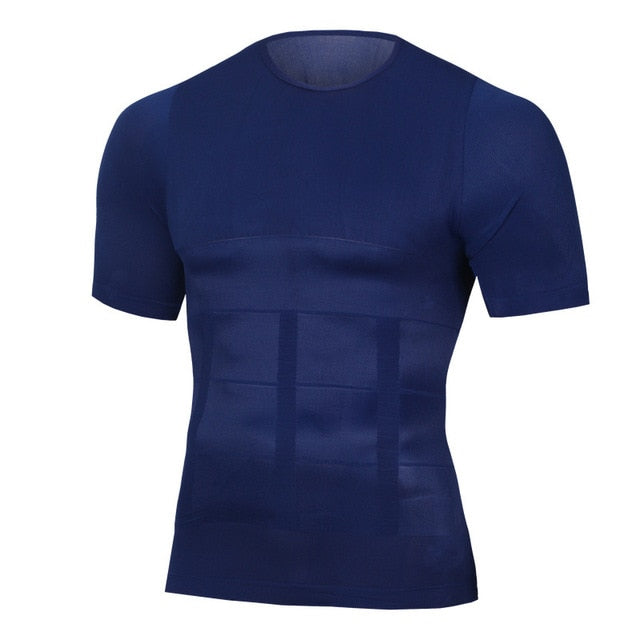 Men's Slimming Shaper Posture Vest Male Belly Abdomen For Corrector Compression Body building Fat Burn Chest Tummy Shirt Corset