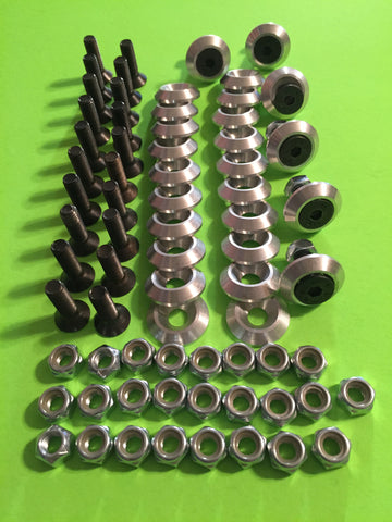 26 Piece Aluminum Body Washer Kit