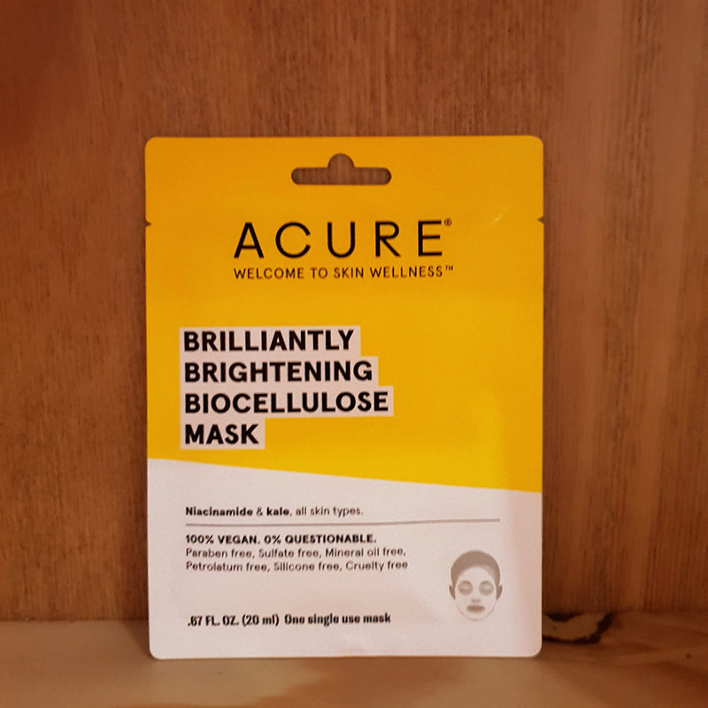 Acure Brilliantly Brightening Biocellulose Mask