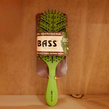 Load image into Gallery viewer, Bass Hairbrush Detangler Green