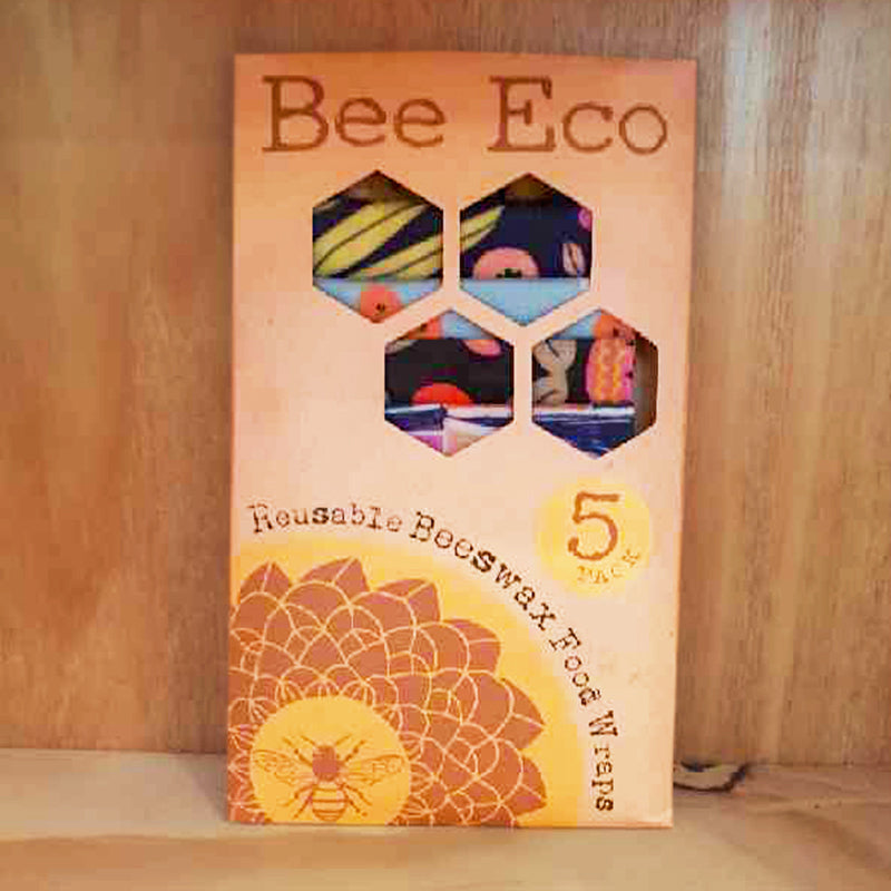 Bee Eco Food Wraps 5 Pack