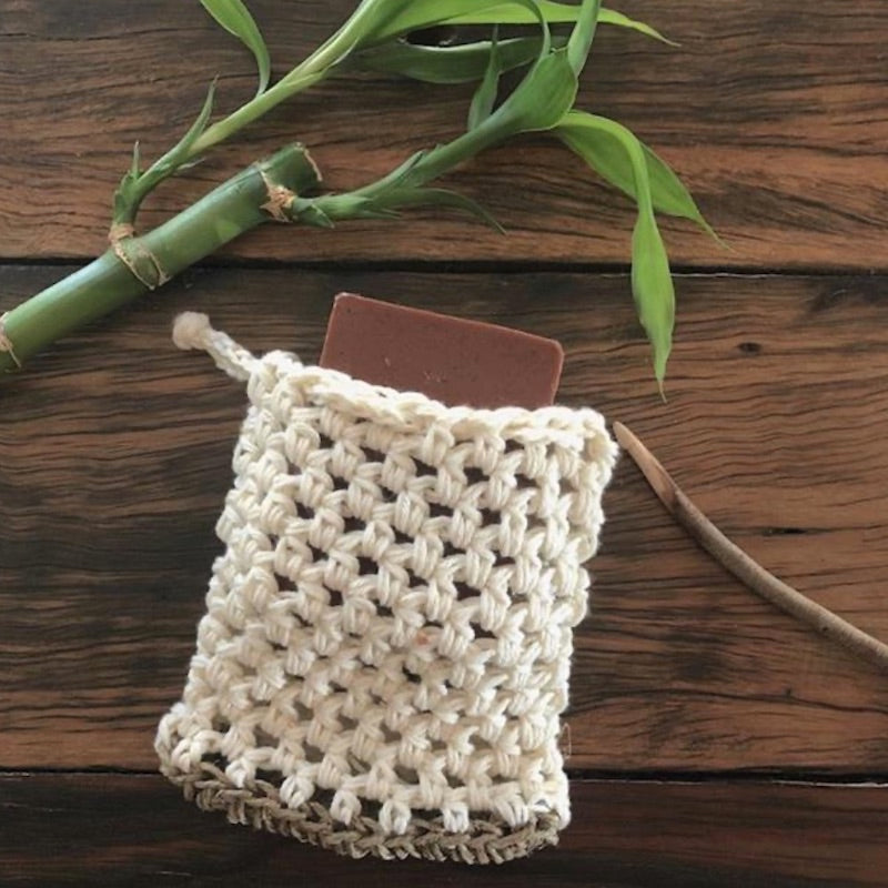 Boho Things Soap saver Organic Cotton & Hemp