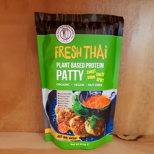 Gluten Free Food Co Fresh Thai Plant based Protein Patty 200g