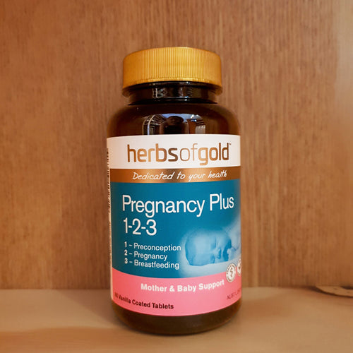 Herbs Of Gold Pregnancy Plus 1-2-3 60 Tablets