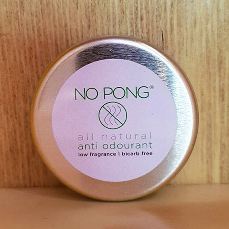 No Pong All Natural Anti Odourant Bi carb Free Deodorant 35g