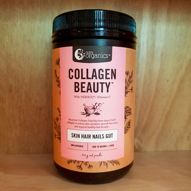 Nutra Organics Collagen Beauty 225g