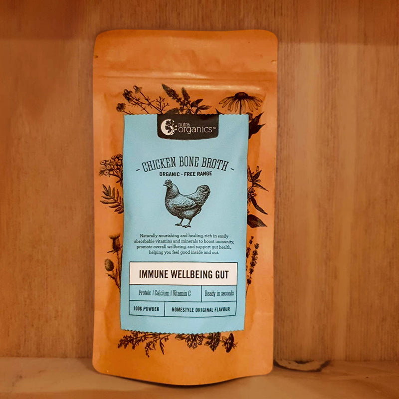 Nutra Organics Organic Chicken Bone Broth 100g
