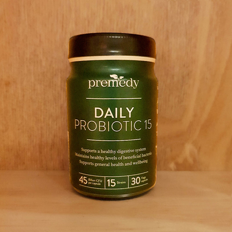 Premedy	Daily Probiotic 15 - 30 Capsules