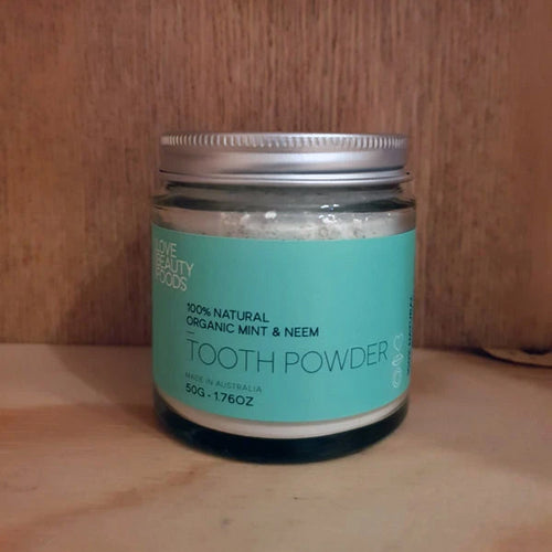 Love Beauty Foods Tooth Powder Mint & Neem
