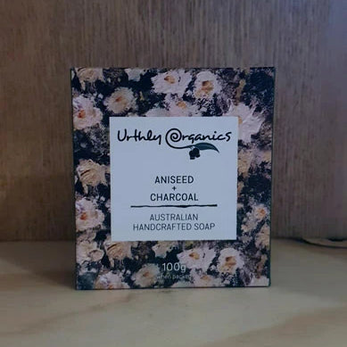 Urthly Organics Soap Aniseed & Charcoal