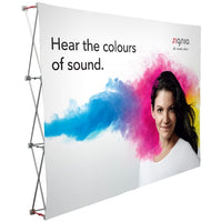 10' Fabric Pop Up Display