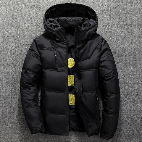 Men Puffer Thick Jacket