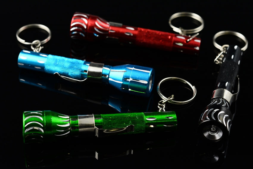 Flashlight Keychain Pipe