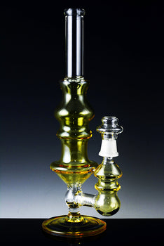 Medium Stemless GoG Fumed Concentrate Water Pipe