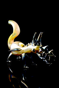 Metallic Fumed Dragon Pipe - AP223