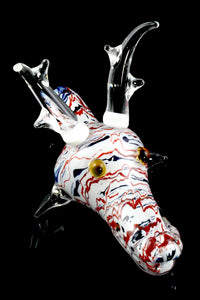 Reindeer Glass Pipe - AP240