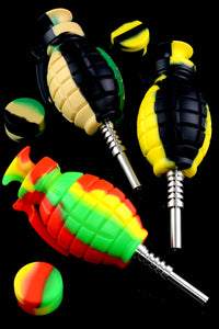 Grenade Silicone Nectar Collector Kit - B1039