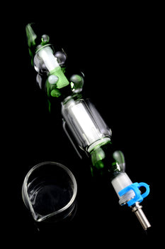 Colored Glass Nectar Collector Kit - 10mm - B01080