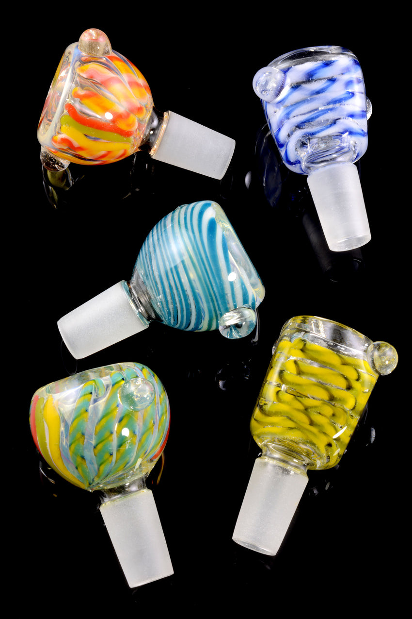 (Mix) 14.5mm Glass on Glass Bowl - BS522