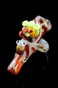 (US Made) Ollie the Octopus Chillum - C0230