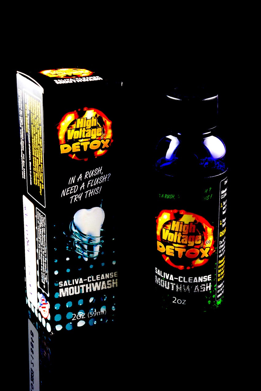 High Voltage Detox Mouthwash - DT113