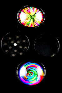 30mm 3 Part Psychedelic Grinder - G0265