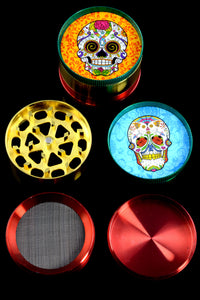 52mm 4 Part Sugar Skull Grinder - G0294