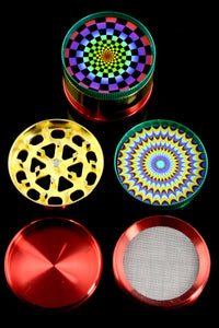 52mm 4 Part Psychedelic Grinder - G0295