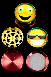 52mm 4 Part Emoji Grinder - G0296