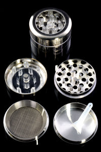 40mm 4 Part Clear Top Aluminum Grinder - G0369