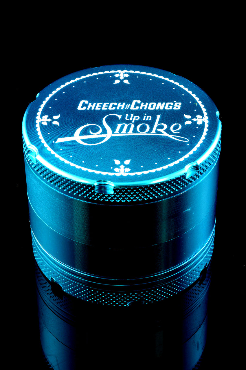 Cheech and Chong's Up in Smoke Aluminum 4 Part 50mm Grinder - G0215