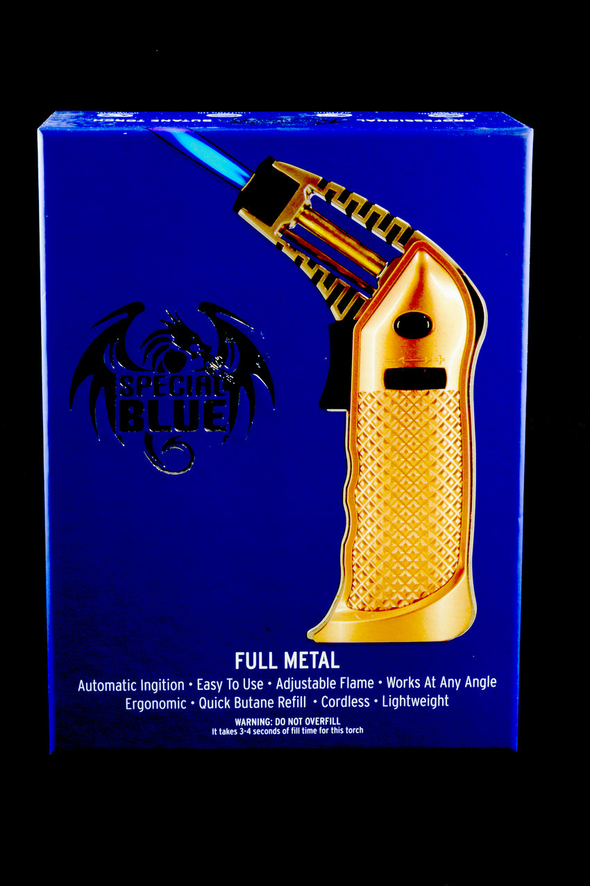 Special Blue Full Metal Torch - L0182