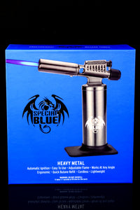 Special Blue Heavy Metal Torch Lighter - L0232