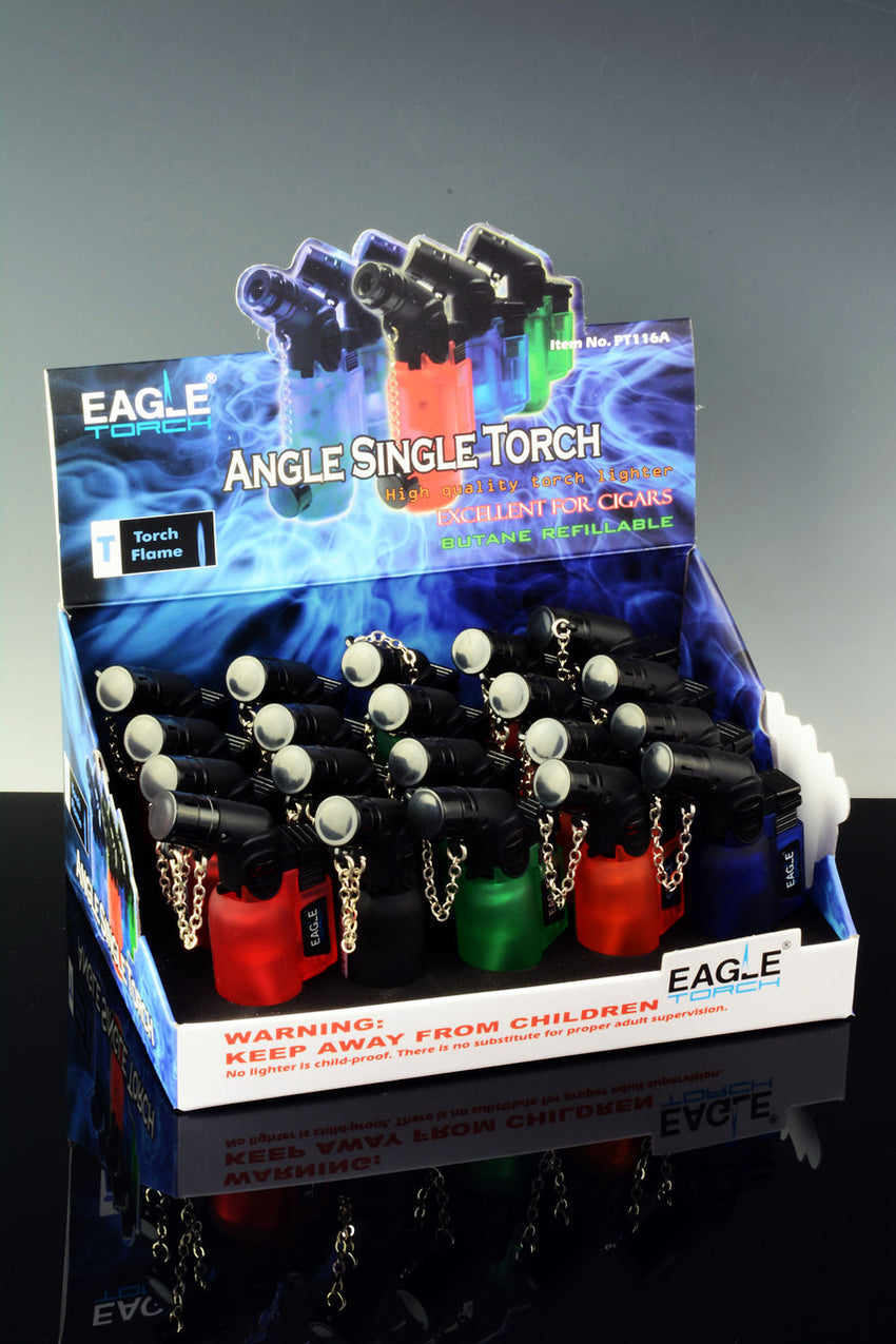 20 Pc Eagle Angle Single Torch Display - L132