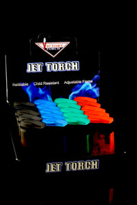20 Pc Victory Torch Lighter Display - L155