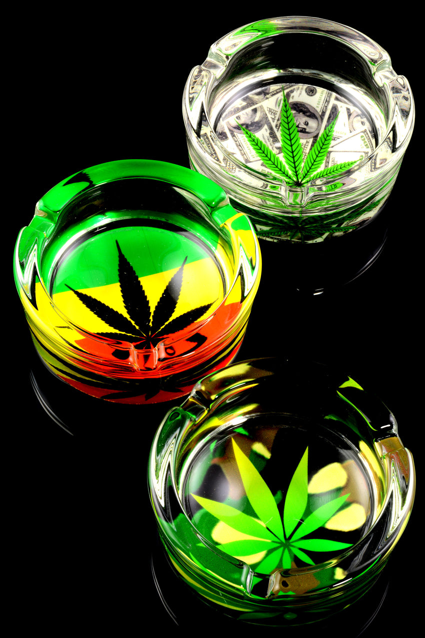 Design Glass Ashtray - M0278