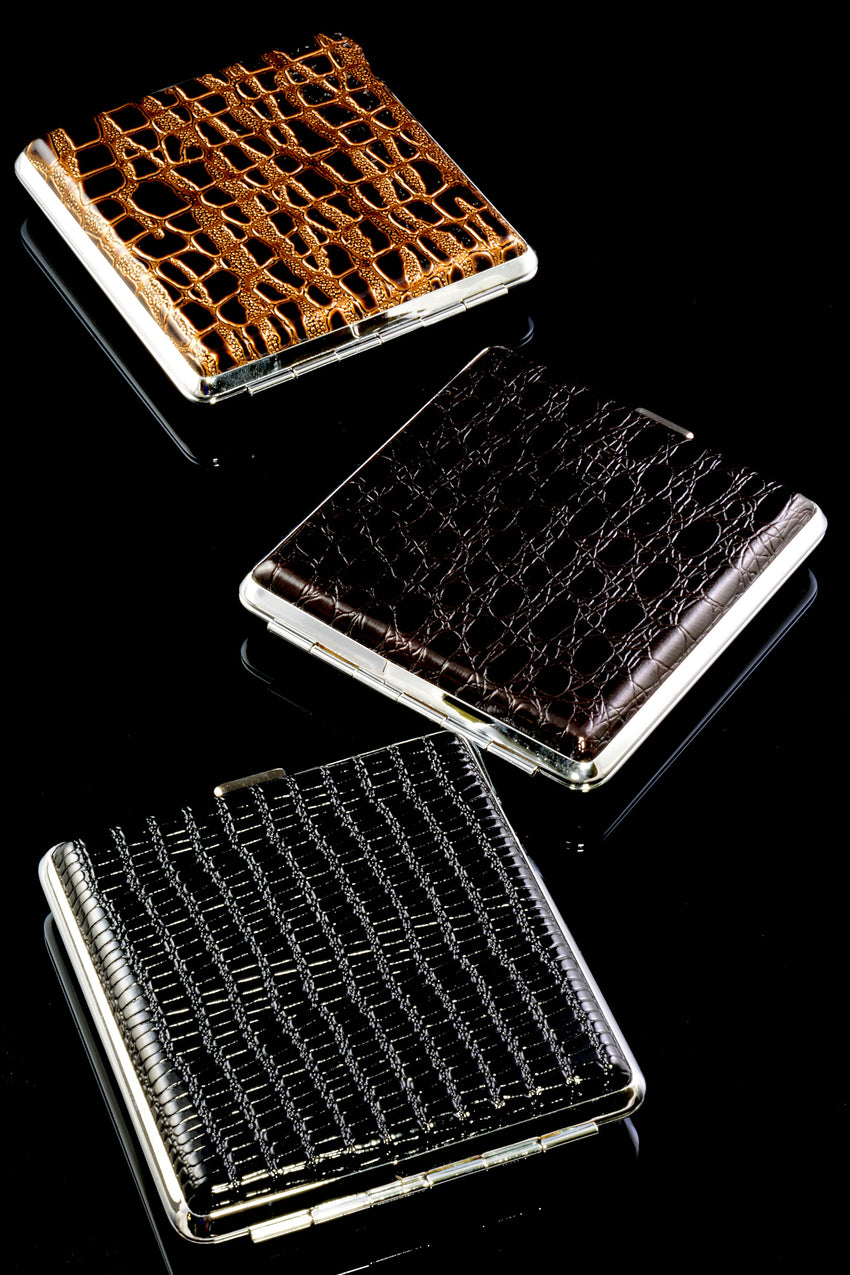 Faux Leather Cigarette Case - M0327