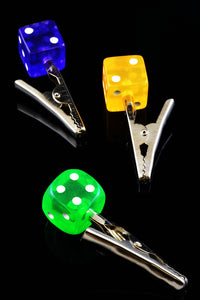 Dice Alligator Clip - M202