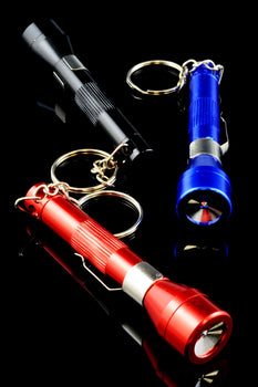 Flashlight Keychain Pipe - MP121