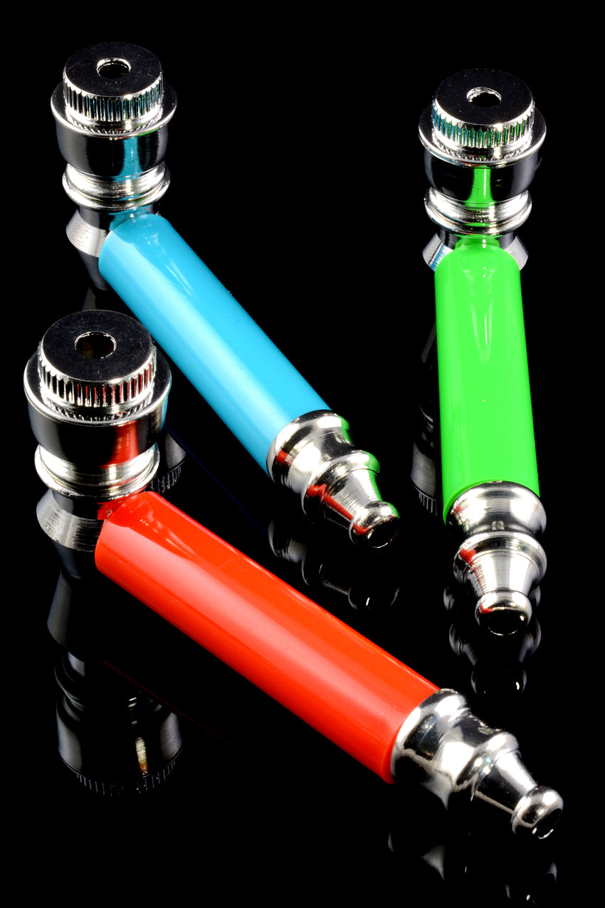 Neon Metal Pipe with Cap - MP172