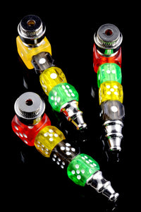 Dice Sleeve Metal Pipe with Cap - MP180