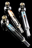 (Mix) Glass R&M Decal Pipe with Metal Bowl Gift Set - MP207