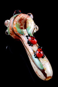 (US Made) Lady Bugs Spoon Pipe - P1601