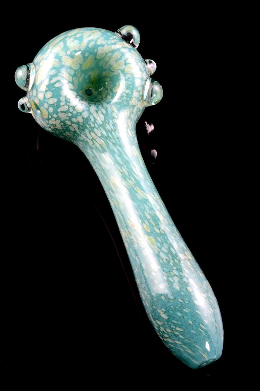 (US Made) Large Aquamarine Spoon Pipe - P1691