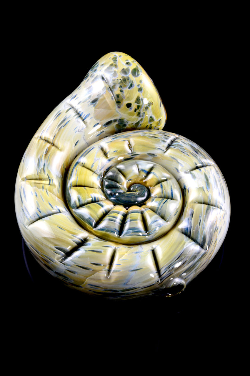 (US Made) Whirlpool Spiral Shell Chillum - P1708