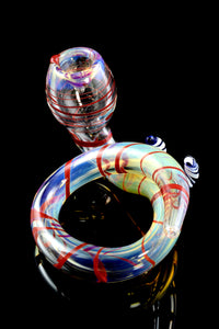 Color Changing Glass Coil Pipe - P1738
