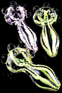 Extra Thick Marble Glass Pipe - P1762